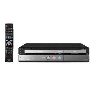 アクオス(AQUOS)の【VHS→DVD】SHARP AQUOSハイビジョンレコーダー DV-ACV52(DVDレコーダー)