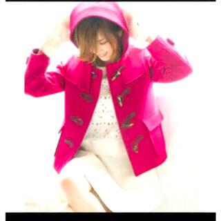 レイビームス(Ray BEAMS)の紗栄子着用 ダッフルショートコート(ダッフルコート)