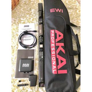 AKAI EWI5000  ウインド・シンセサイザー 未使用品 ケース説明書付き(その他)