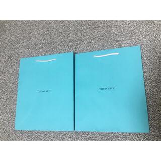 ティファニー(Tiffany & Co.)のティファニー 紙袋 ショップ袋⭐️2枚(ショップ袋)