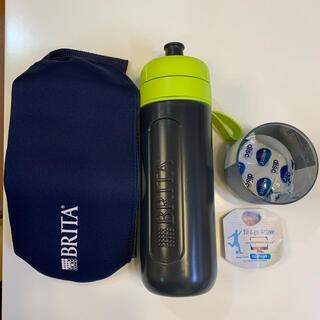 ブリタックス(Britax)のブリタ 浄水機能付きボトル ボトルカバー付(浄水機)