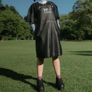 KOBINAI レザージャンパースカート(サロペット/オーバーオール)