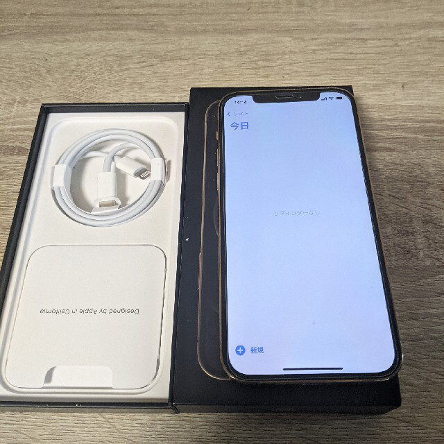 iPhone12 Pro 128GB 美品 スマホ/家電/カメラのスマートフォン/携帯電話(スマートフォン本体)の商品写真
