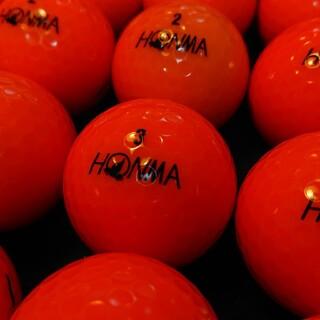 ホンマゴルフ(本間ゴルフ)の【良品】´18 ホンマ D1 24球 オレンジ ロストボール ゴルフボール(その他)
