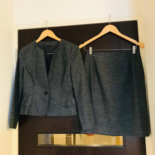 ANAYI - ANAYI ウールペプラムノーカラージャケット、スカート/セオリー、23区、ロペ