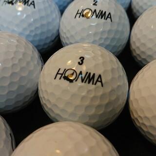 ホンマゴルフ(本間ゴルフ)の【美品】´18ホンマ D1 24球① ホワイト ロストボール ゴルフボール(その他)