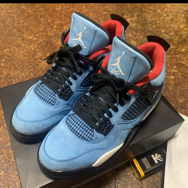 NIKE(ナイキ)のNike Air Jordan 4 Travis Scott  Tシャツ付き メンズの靴/シューズ(スニーカー)の商品写真
