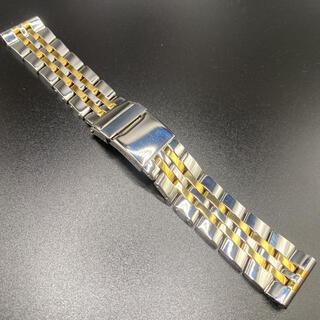 22mm 5連 パイロットブレス ベルト ゴールド(金属ベルト)