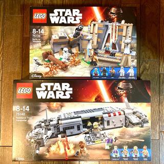 レゴ(Lego)の新品2種☆ スターウォーズ LEGO レゴ カイロレン ストームトルーパー(SF/ファンタジー/ホラー)