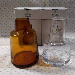 イッタラ(iittala)の新品 SCOPE Holmegaard Flora ベース 12cm 花瓶  (花瓶)