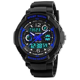 子供 腕時計 ウォッチ キッズ 防水 多機能 ボーイズ 男の子 アラーム付き(腕時計)