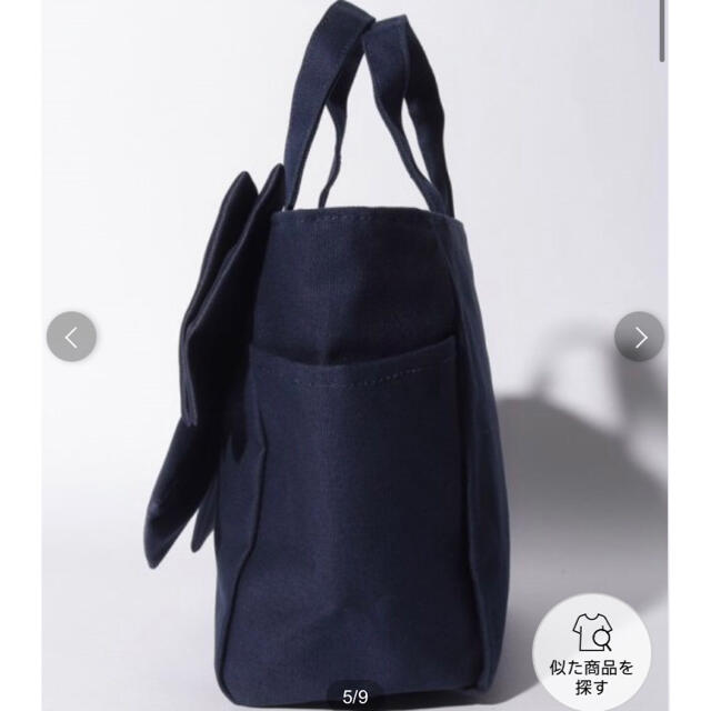 Maison de FLEUR(メゾンドフルール)の新品未使用!メゾンドフルール ビッグリボンsトートバッグ レディースのバッグ(トートバッグ)の商品写真