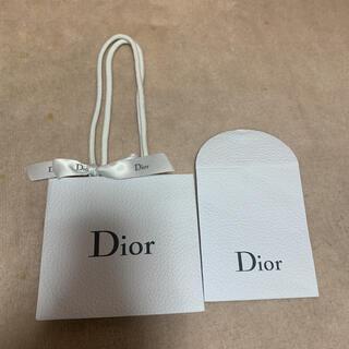 ディオール(Dior)のDior ディオール ショップ袋 ラッピング袋 リボン付き(ショップ袋)