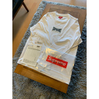 Supreme - supreme Woven Label L/S Top ロンT S