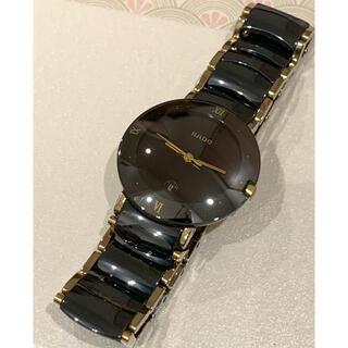 ラドー(RADO)のRADO 時計 黒 クォーツ時計 12.00301.3 used品(腕時計)