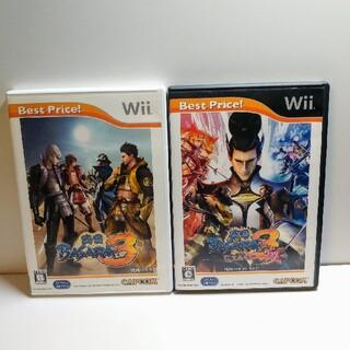 Wii - Wii 戦国バサラ・戦国バサラ宴 2点セット