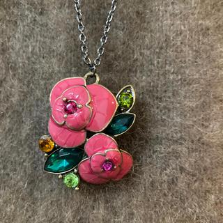 ANNA SUI - アナスイ ネックレス お花 フラワー 薔薇