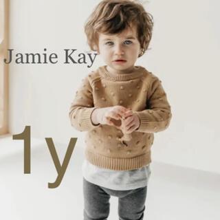 こども ビームス - Jamie Kay Dotty Knit Latte  ドット ニット 新品