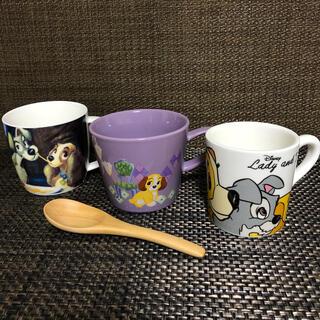 Disney - Disney ★入手困難★わんわん物語 レディ&トランプ 3種 マグカップ