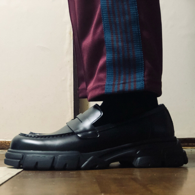 ZARA(ザラ)のZARA マキシソールローファー  メンズの靴/シューズ(ドレス/ビジネス)の商品写真