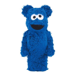 MEDICOM TOY - BE@RBRICK COOKIE MONSTER Costume 1000%