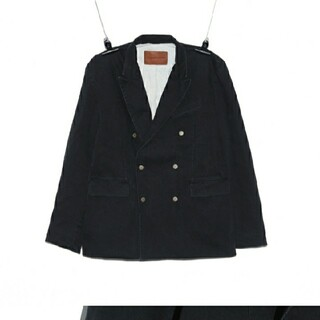PEACEMINUSONE - PMO DENIM PADDED JACKET #1 BLACK