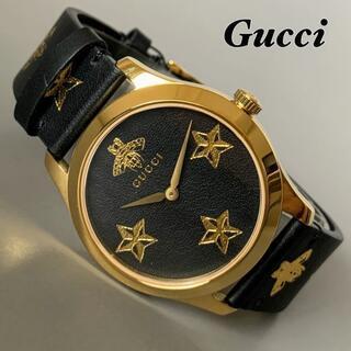 Gucci - 【新品】グッチ GUCCI G-タイムレス 蜂 星 レディース メンズ腕時計