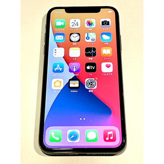 Apple - iPhone X 64GB スペースグレイ SIMフリー