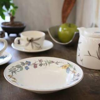 ミカサ(MIKASA)のMIKASA ミカサ HERITAGE 花柄 シチュー スープ カレー皿 大深皿(食器)