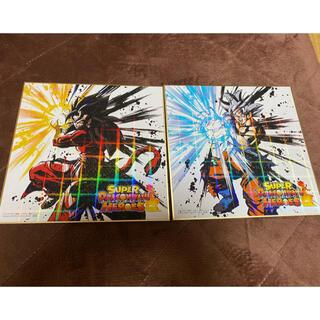 ドラゴンボール(ドラゴンボール)のドラゴンボール 色紙 スペシャルバージョン二枚(キャラクターグッズ)