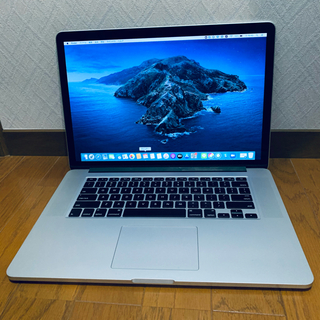 Apple - MacBook Pro 2015 15インチ SSD 512GB 16GB