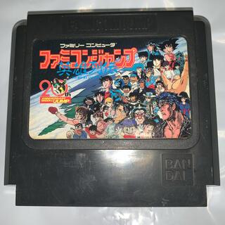 ファミリーコンピュータ(ファミリーコンピュータ)のファミコンソフト ファミコンジャンプ 英雄列伝(家庭用ゲームソフト)