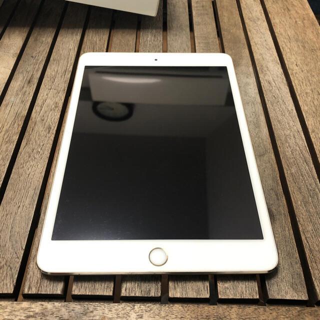 Apple(アップル)のipad mini 3 64GB GOLD wifiモデル スマホ/家電/カメラのPC/タブレット(タブレット)の商品写真