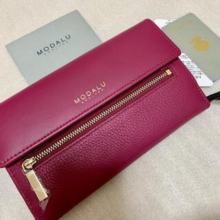 【新品★タグ付き】MODALU(モダル)長財布