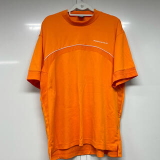 パラディーゾ(Paradiso)のPARADISO、Tシャツ、半袖、ゴルフウェア、ゴルフ、オレンジ(ウエア)