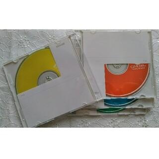 CD-ROM 4枚 カラーCD-R 700MB maxell