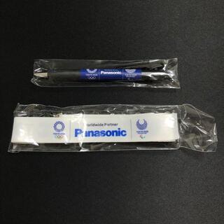 パナソニック(Panasonic)のパナソニック 東京オリンピック ネックストラップ&ボールペン セット 非売品(ノベルティグッズ)