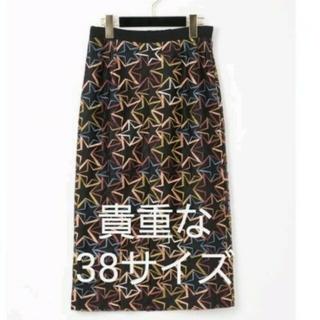 GRACE CONTINENTAL - 新作 新品 グレースコンチネンタル マルチスターチュールスカート 38サイズ