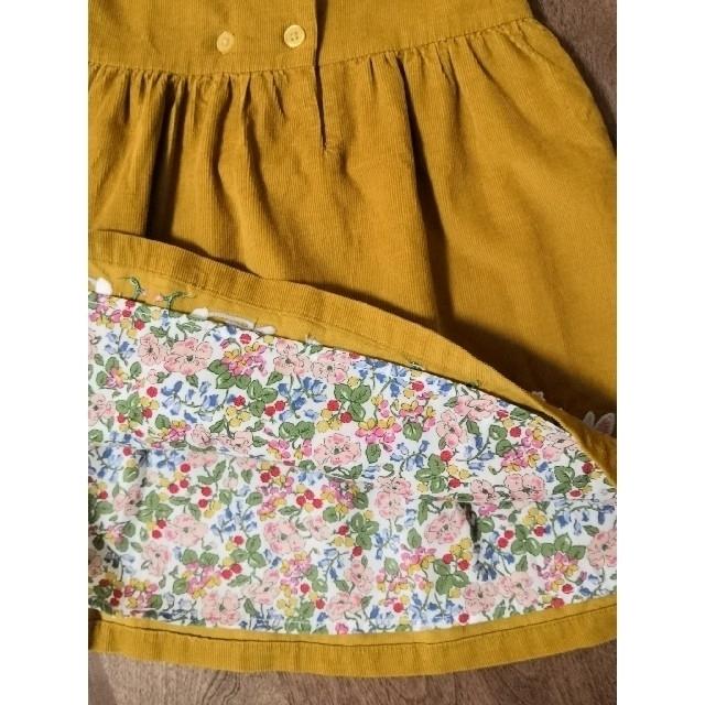Boden(ボーデン)のミニボーデン うさぎワンピース 92cm キッズ/ベビー/マタニティのキッズ服女の子用(90cm~)(ワンピース)の商品写真