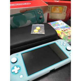 任天堂 - Nintendo スイッチライト あつ森 セット 本体保証書付き