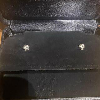 Tiffany & Co. - ティファニー ダイヤモンド ピアス  両耳で0.4カラット