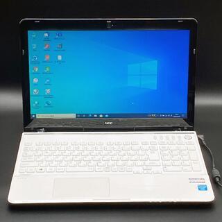 NECノートパソコン Windows10 i7 SSD512 Webカメラ搭載