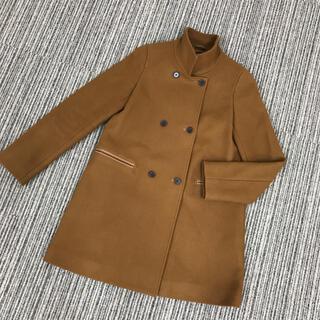 STUNNING LURE - スタンドカラーコート キャメルブラウン