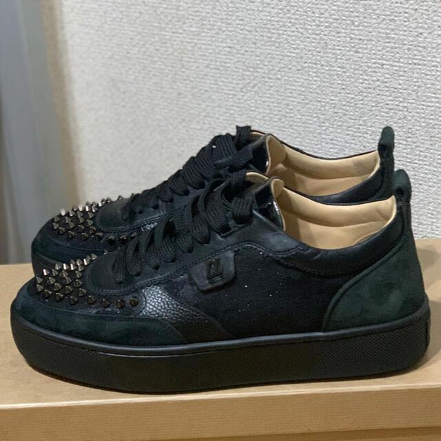 Christian Louboutin(クリスチャンルブタン)のクリスチャン ルブタン ハッピールイ 美品 メンズの靴/シューズ(スニーカー)の商品写真