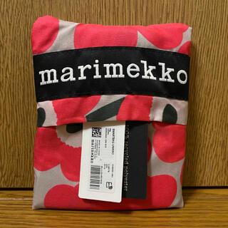 marimekko - 【新品/未使用】マリメッコ エコバッグ  ウニッコ ピンク ベージュ