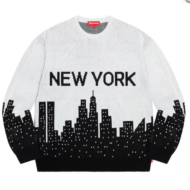 Supreme(シュプリーム)のSupreme New York Sweater Medium メンズのトップス(ニット/セーター)の商品写真