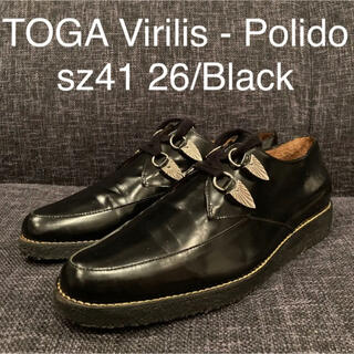 TOGA - sz41 TOGA VIRILIS - Polido 革靴 ブラック