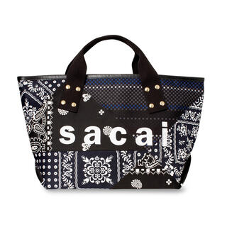 sacai - 【新品未使用】 sacai 21SS パッチワークトートバッグMサイズタグ付き