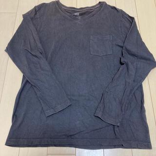 フリークスストア(FREAK'S STORE)のフリークスストア VネックロングスリーブTシャツ Mサイズ(Tシャツ/カットソー(七分/長袖))