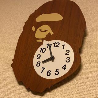 アベイシングエイプ(A BATHING APE)のa bathing ape 掛け時計(掛時計/柱時計)
